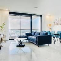 Luxury TLV center steps to Rothschild 4BR 3BA high floor +Balcony/Parking