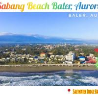 Beachfront Fan Room at Baler Aurora, hotel in Baler