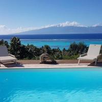 Villa Ora, hotel perto de Aeroporto Moorea - MOZ, Teavaro