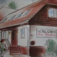 Hotel Garni Haus Dornheim, отель в городе Обертсхаузен