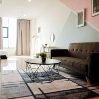 Pinstay Scandinavian Suites @ ITCC Manhattan Suites, hotel in Penampang