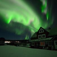 Arctic Colors Northern Lights Apartments, hotell i Porjus