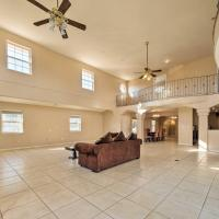 Expansive Cali Retreat with Indoor Balcony & Pool!