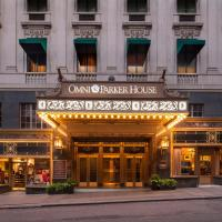 Boston Omni Parker House Hotel, hotel in Boston