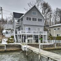 Waterfront Home with Hot Tub & Kayaks & Dock!