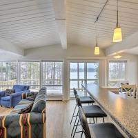 Lakefront Home with Deck, 8 Mi to Rhinelander!