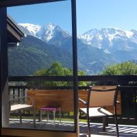Spacious duplex apartment with Mont Blanc View