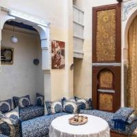 Family Room for 4 peoples Sunny Riad Inside Medina Fes El Bali