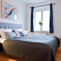 Cozy 2 bedroom apartment in Charlottelund, hotel i Charlottenlund