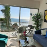 Beachfront apartment with oceanview, in Bejuco Beach, hotel en Esterillos Este