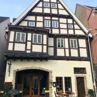 Hotel-Pension Markt-Scheune Anno 1652, отель в городе Флото