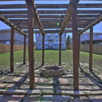 San Antonio Home with Yard, Fire Pit and Pergola!