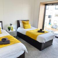 Luxurious 5-beds central Manchester townhouse & Two Free Parking