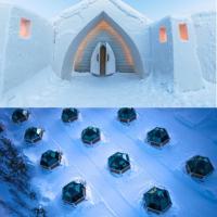Arctic SnowHotel & Glass Igloos, hotel in Sinettä