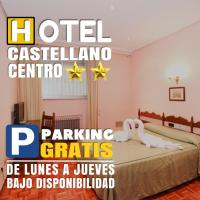 Hotel Castellano Centro, отель в городе Саламанка