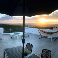 Casa Rooftop with amazing views (Wifi, BBQ, A/C)