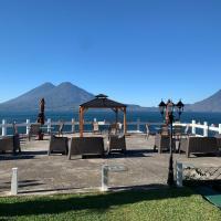 Atitlan Apartments: Panajachel'de bir otel
