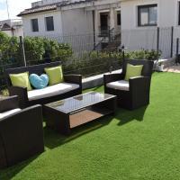 Gran terraza privada para disfrutar con la familia