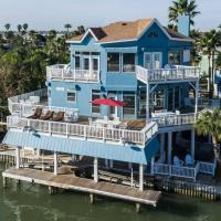 Endless Activities on the JB Bay! Hot Tub Kayak Paddle Board Outdoor Bar!, hotel in Jamaica Beach, Galveston