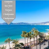 On la Croisette: luxe 2 bedrooms/ 2 baths