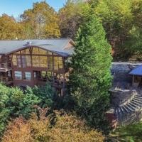 A Lake & Mountain Lodge w/ Lake Access, Hot Tub & Game Room home
