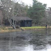Lochside log cabin