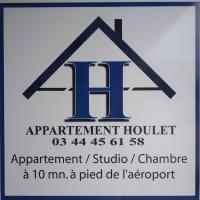 Appartement Houlet, hotel dicht bij: Luchthaven Beauvais-Tille - BVA, Tillé