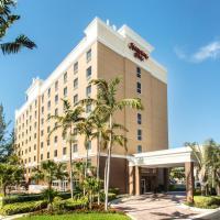Hampton Inn Hallandale Beach-Aventura, hotel in Hollywood