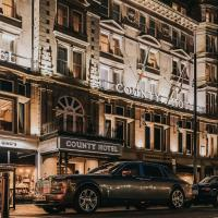 County Hotel Newcastle, hotel in Newcastle upon Tyne
