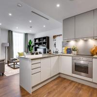 Modern 1 bedroom apartment close to Canary Wharf with superfast WiFi - great for students