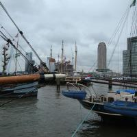Lovely Boat in Rotterdam with Lake Nearby