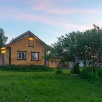 Дом с баней на берегу реки - Речная Заимка, отель в Александрове