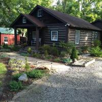 The Bent Branch Lodge - A Gnomes Retreat - Historic Virginia Log Cabin, Coy Pond and Babbling Brook