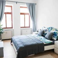 Top moderne Wohnung in Leipziger Altbau - Netflix inklusive