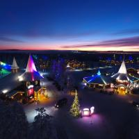 Santa Claus Holiday Village, hotelli Rovaniemellä
