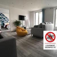 La Suite Emoji - SDP, hôtel à Lagny-sur-Marne