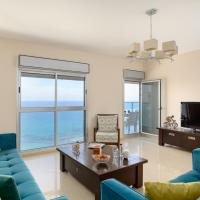 Beach Apartment - Ocean View - Parking - in Bat Yam