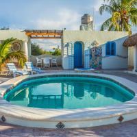 Casa de Playa en Chicxulub Puerto, Yucatán, hotel en Chicxulub