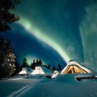 Wilderness Hotel Muotka & Igloos, hotel in Saariselka