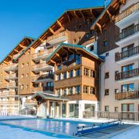 Vacancéole - Résidence La Turra, hotel in Valfréjus