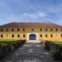 Apartmán Zahrádka, отель в городе Mírkovice