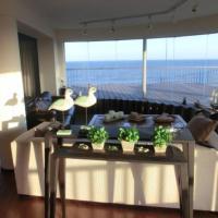 Apartamento Loft frente al mar, todo vista. Designer deco.