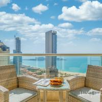 LUX - The Dubai Marina Sea View Suite, hotel in Jumeirah Beach Residence, Dubai