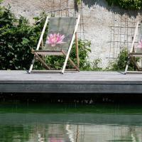 Studio am Schwimmteich mitten im Grünen