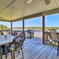 House with Dock & Slide Situated on Lake Sinclair!