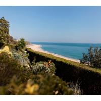 OCEAN VIEWS VILLA WITH LARGE GARDEN in SANT POL DE MAR Shared SWIMMING POOLS Ref MRHAS