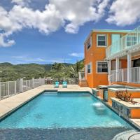 Christiansted House with Ocean-View Pool and Spa!