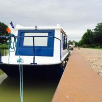 Location sans contact de bateau Le Bayou、Cuffyのホテル