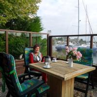 6 pers Chalet Emma direkt am Lauwersmeer