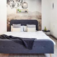 ☆Design Apartment☆Messe/Airport☆Toplage☆Tiefgarage, Hotel in der Nähe vom Flughafen Stuttgart - STR, Leinfelden-Echterdingen